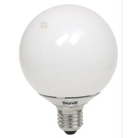 BEGHELLI LAMPADA A LED 56081 GLOBO E27 W12 LUCE FREDDA OPALE