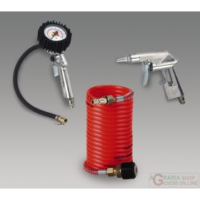 Einhell Set 3 accessori per compressore con attacco rapido