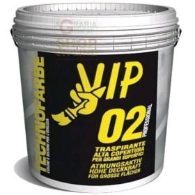 VIP PROFESSIONAL 02 PITTURA TRASPIRANTE PER INTERNI LT. 4 BIANCO