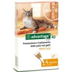 ADVANTAGE FOR CATS 4 PIPPETTE UP KG. 4