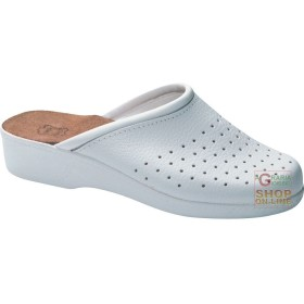PIANELLA LEATHER PERFORATED SOLE POLYURETHANE COLOUR WHITE TG