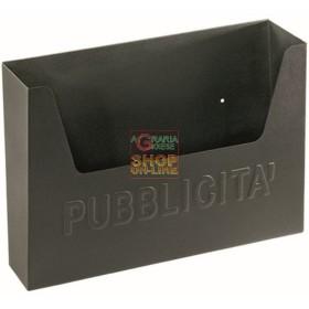 BLINKY CESTINO PER PUBBLICITA CITY NERO-MEDIO CM. 36X8X23