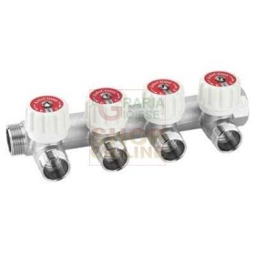 MODULAR MANIFOLD WITH STOP VALVE MF 3/4 2-WAY
