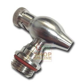 FAUCET STAINLESS STEEL CONTAINER, 1/2-INCH SCREW-IN DRIP