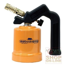 SALDATORE A CARTUCCIA GAS EUROCAMPING ACCENSIONE NORMALE