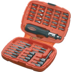 BLACK DECKER GIFT SET SCREWDRIVER RATCHET WITH INSERTS