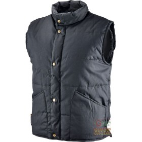 VEST COTTON POLYESTER PADDED WITH CRADLE INTERIOR COLOR NERO TG