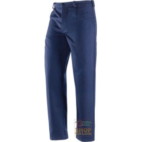 PANTS, MOLESKIN 100% COTTON GR 340 350 BLUE TG 46 62