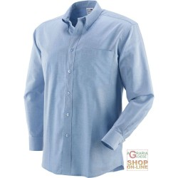 SHIRT 70% COTTON 30% POLYESTER, 140 GR SQM, LONG SLEEVE, COLOR