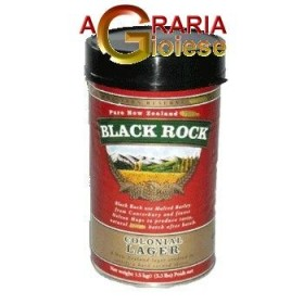 BLACK ROCK MALT FOR BEER COLONIAL LAGER