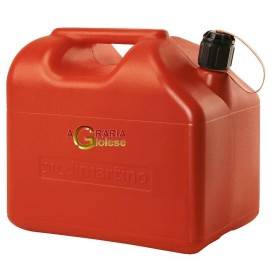 TANK RED PLASTIC FUEL APPROVED BY THE LT. 20
