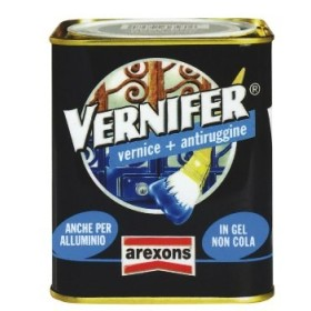 VERNIFER PAINT TO GEL WITH ANTI-RUST PAINT ANTIQUING ANTHRACITE