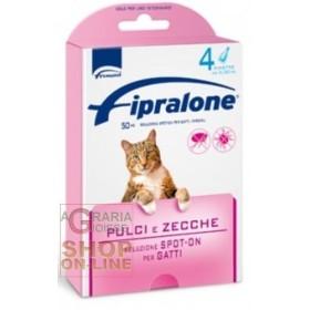 FIPRALONE SPOT-ONE ANTIPARASSITARIO PER GATTI 4 PIPETTE