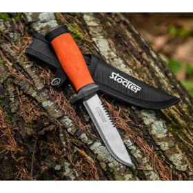 STOCKER ART. 746 COLTELLO PUGNALE OUTDOOR PER CACCIA PESCA CM.