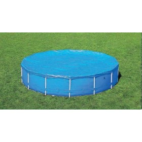 BESTWAY 58037 CLOTH TOP POOL COVER WITH FRAME-DIA. CM. 366