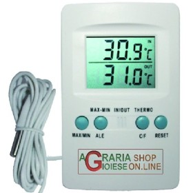 BLINKY DIGITAL THERMOMETER FOR INTERNAL AND EXTERNAL WITH PROBE