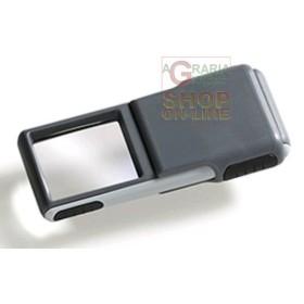 LENTE DI INGRANDIMENTO CON LED MM. 38 X 32 3 X 501238