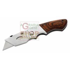 HERBERTZ KNIFE CUTTER LOCKABLE WITH INTERCHANGEABLE BLADES MOD.