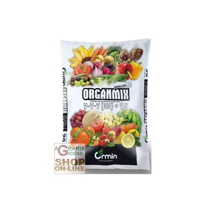 ORGANMIX ORGANO MINERAL 7.7.7 (30) +7,5 KG. 25