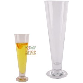 BORMIOLI SET OF 4 GLASSES GLASS PILS BEER CL. 38,5