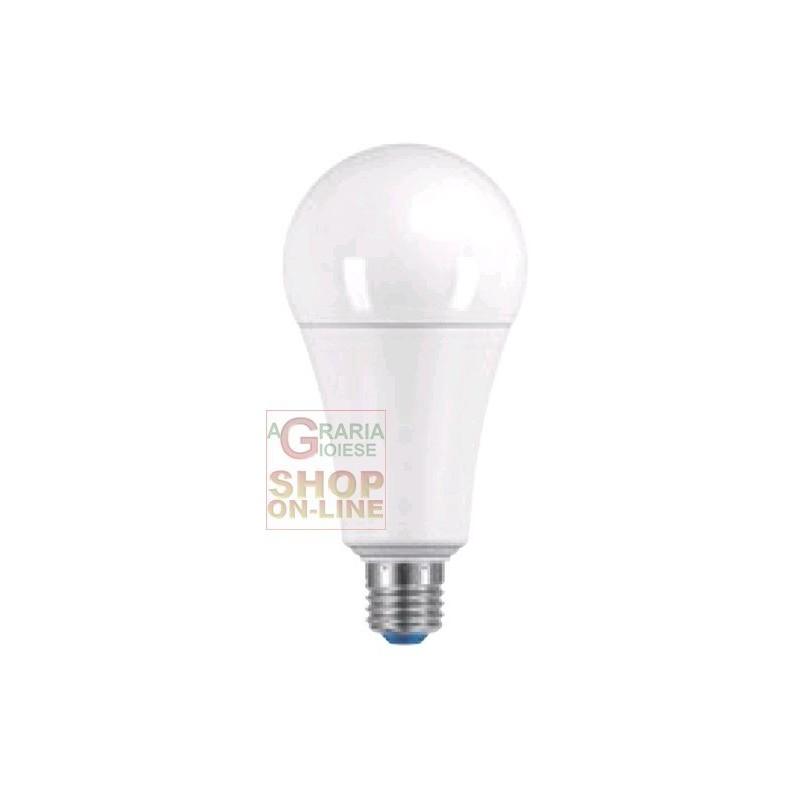 Lampada goccia a led e27 luce fredda lumen 2000 watt 18 a67 for Lampadine led lumen