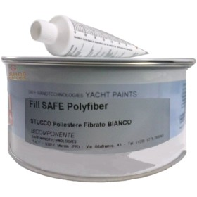 YACHT PAINTS FILL SAFE POLYFIBER STUCCO POLIESTERE FIBRATO PER