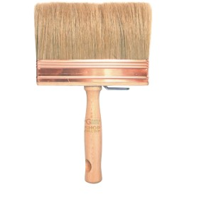 Paint brush BRISTLE BLONDE WITH WOODEN HANDLE S. 800 GR. 5 X 15