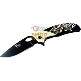 VIGOR COLTELLO A SERRAMANICO MOD. FALCO MM. 200
