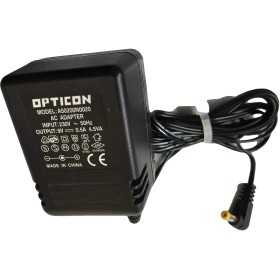 POWER SUPPLY OPTICON A50200N0020 AC ADAPTER 9V 0.5 A 230V