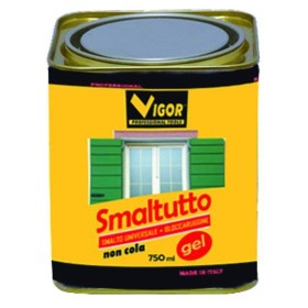 SMALTO ANTIRUGGINE SMALTUTTO GEL 9010 BIANCO OPACO ML. 750