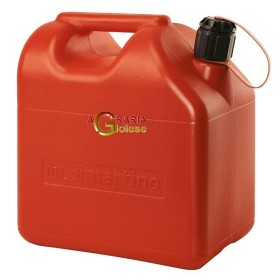 TANK RED PLASTIC FUEL APPROVED BY THE LT. 10