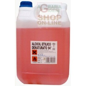 ALCOOL ETILICO DENATURATO 94 GRADI LT. 5