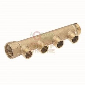 MANIFOLD LINEAR MALE CONNECTOR 1 2-WAY 3/4 IN. X 18 INNER: 50