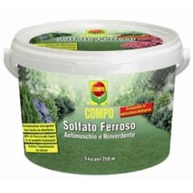 COMPO SOLFATO FERROSO KG. 5
