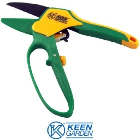 SCISSORS FOR PRUNING A RATCHET AND RACK WITH GUARD KUNZI KGR