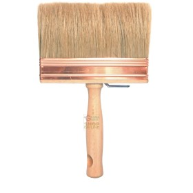 Paint brush BRISTLE BLONDE WITH WOODEN HANDLE S. 800 GR. 4 X 14