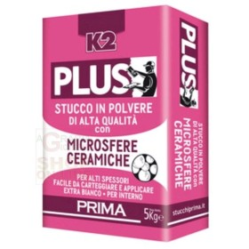 STUCCO PLUS MICROSFERE IN POLVERE DI ALTA QUALITA K2 KG. 5