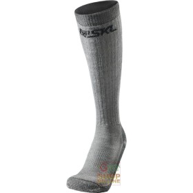 TECHNICAL SOCKS LONG COMPOSED IN MERINO WOOL ACRYLIC POLYAMIDE