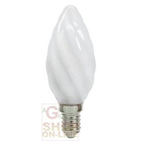 BEGHELLI LED LAMP 56921 TWISTED E14 2.5 W COLD LIGHT OP