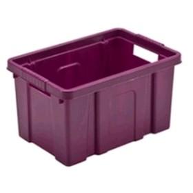 BOX PLASTIC CONTAINER BOXI CM.56X43,5X30 LT. 55