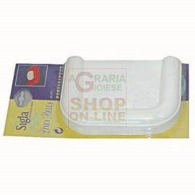 PORTA SAPONE IN ABS LINEA BELLA BIANCO ART. 517