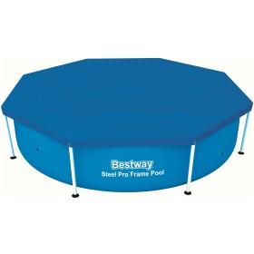 Bestway 58301 TELO TOP COPERTURA COPRIPISCINA PISCINA Steel Pro
