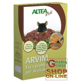 ARVIM ESCA IN PASTA PRONTA USO PER ARVICOLE gr. 400