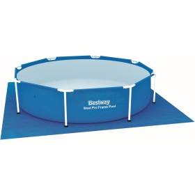 BESTWAY 58000 MAT TOWEL AT THE BASE FOR SWIMMING POOL SQUARE