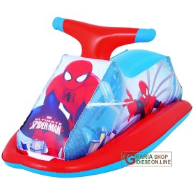 BESTWAY 98012 BIKE WATER SPIDERMAN INFLATABLE CM 89X46h.