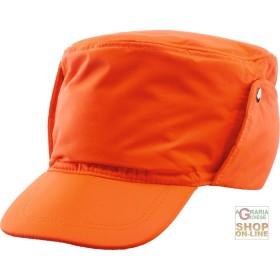 CAP IN FABRIC GB TEX ORANGE COLOR