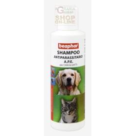 BEAPHAR SHAMPOO anti-PARASITE A. P. E. FOR DOGS AND CATS