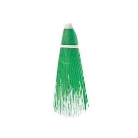 BROOM STREET CLEANER IN GREEN PLASTIC
