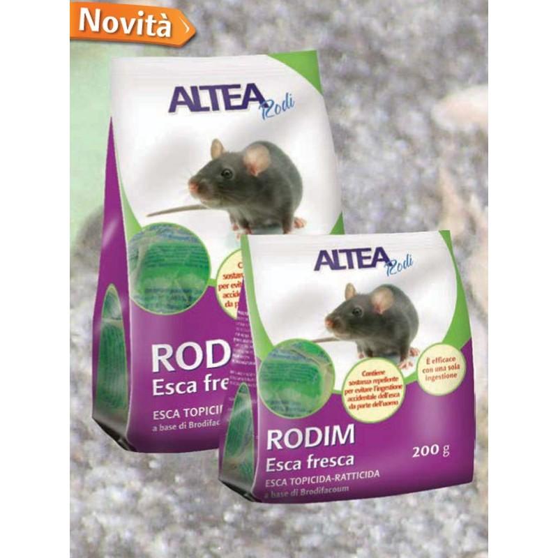 RODIM - ESCA FRESCA TOPICIDA-RATTICIDA PER USO DOMESTICO E