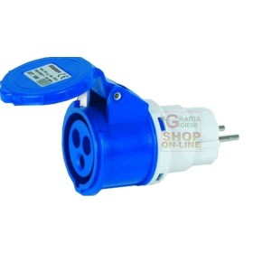 ADAPTER INDUSTRIAL PLUG, SCHUKO-SOCKET 16A 220V FIG.6